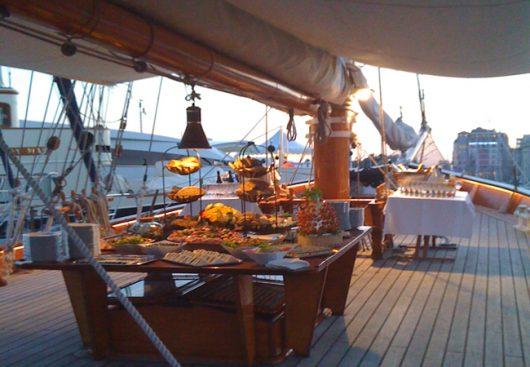 séminaire sur un bateau